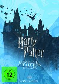 Harry Potter Complete Collection (8 Filme), DVD