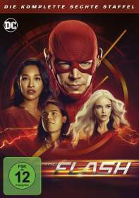 The Flash Staffel 6, DVD