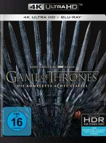 Game of Thrones Season 8 (finale Staffel) (Ultra HD Blu-ray & Blu-ray), UHD