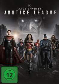 Zack Snyder: Zack Snyder's Justice League, DVD