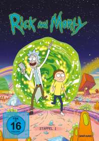 Justin Roiland: Rick and Morty Staffel 1, DVD