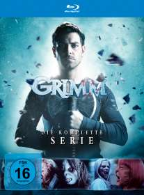 Grimm (Komplette Serie) (Blu-ray), BR