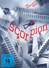 Christine Moore: Scorpion (Komplette Serie), DVD