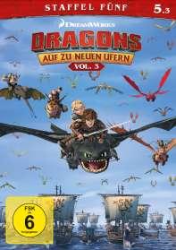 Dragons - Auf zu neuen Ufern Staffel 5 Vol. 3, DVD