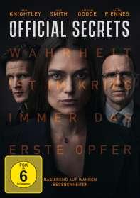 Gavin Hood: Official Secrets, DVD