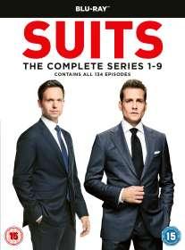 Suits Season 1-9 (Blu-ray) (UK Import), BR