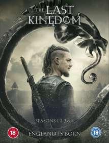 The Last Kingdom Season 1-4 (UK Import), DVD