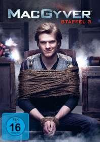 MacGyver Staffel 3, DVD