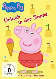 Peppa Pig Vol. 18: Urlaub in der Sonne, DVD