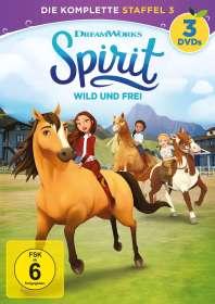 Spirit - Wild und Frei - Die komplette Staffel 3, DVD