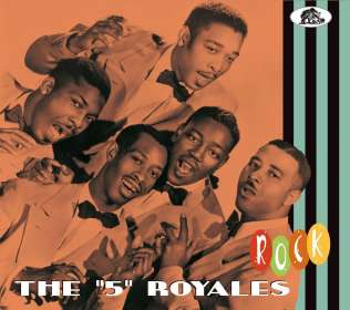 The Five Royales: Rock, CD