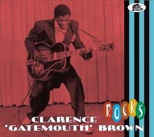 """Clarence """"Gatemouth"""" Brown: Rocks, CD"""