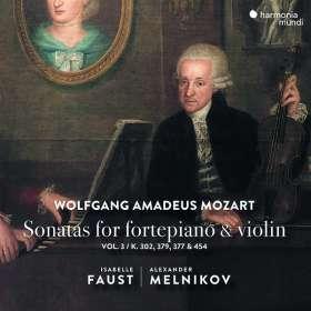 Wolfgang Amadeus Mozart (1756-1791): Sonaten für Violine & Klavier Vol. 3, CD