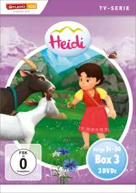 Jerome Mouscadet: Heidi (CGI) Box 3, DVD