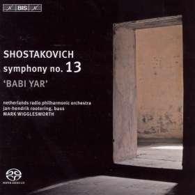 "Dmitri Schostakowitsch (1906-1975): Symphonie Nr.13 ""Babi Yar"", SACD"