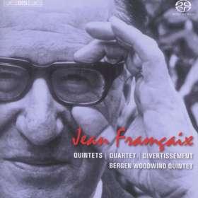 Jean Francaix (1912-1997): Bläserquintette Nr.1 & 2, SACD