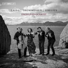 Engegard Quartet - Grieg / Thommessen / Sibelius, SACD