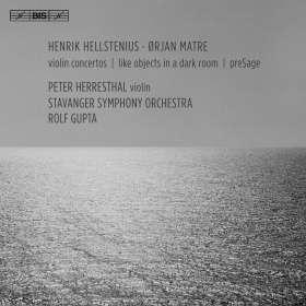 Orjan Matre (geb. 1979): Violinkonzert, SACD