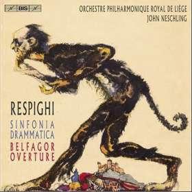 Ottorino Respighi (1879-1936): Sinfonia Drammatica, SACD