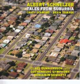 """Albert Schnelzer (geb. 1972): Cellokonzert """"Crazy Diamond"""", SACD"""