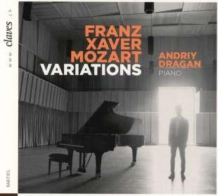 Franz Xaver Mozart (1791-1844): Variationen für Klavier, CD