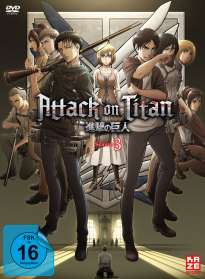 Tetsuro Araki: Attack on Titan Staffel 3 Vol. 1 (mit Sammelschuber), DVD