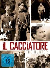Davide Marengo: Il Cacciatore - The Hunter Staffel 2, DVD