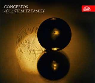 Konzerte der Stamitz-Familie (Vorab exklusiv für jpc), CD