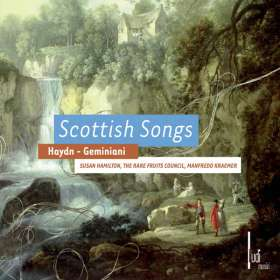 Francesco Geminiani (1687-1762): Scottish Songs, CD