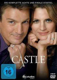 Rob Bowman: Castle Season 8 (finale Staffel), DVD
