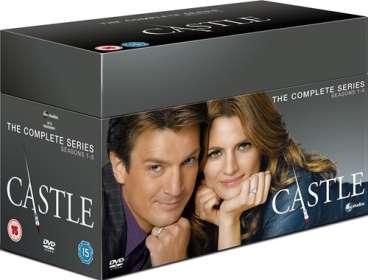 Castle Season 1-8 (The Complete Series) (UK Import), DVD
