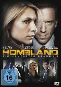 Michael Cuesta: Homeland Staffel 2, DVD