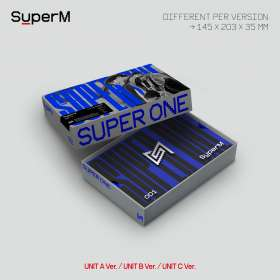 SuperM: Super One (Limited Unit A Version), CD