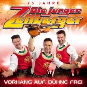 Die Jungen Zellberger: Vorhang auf,Bühne frei-25 Jahre, CD