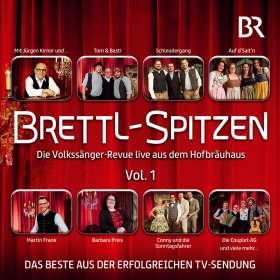 Brettl-Spitzen-Die Volkssänger-Revue live, CD