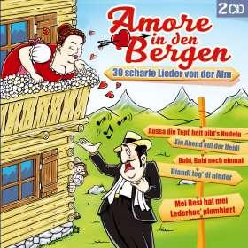Amore in den Bergen-30 scharfe Lieder von d.Alm, CD