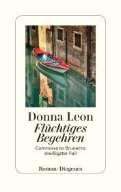 Donna Leon: Flüchtiges Begehren, Buch