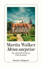 Martin Walker: Menu surprise, Buch