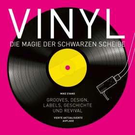 Mike Evans: Vinyl - Die Magie der schwarzen Scheibe, Buch