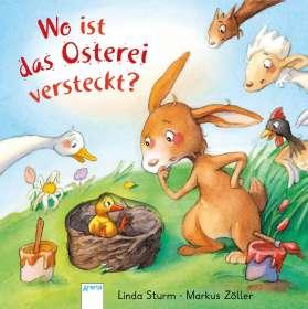 Linda Sturm: Wo ist das Osterei versteckt?, Buch