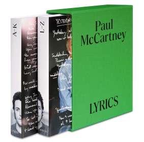 Paul McCartney: Lyrics Deutsche Ausgabe, Buch