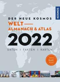 Henning Aubel: Der neue Kosmos Welt- Almanach & Atlas 2022, Buch