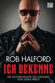 Rob Halford: Ich bekenne, Buch