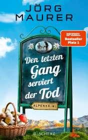 Jörg Maurer: Den letzten Gang serviert der Tod, Buch