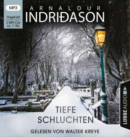 Arnaldur Indriðason: Tiefe Schluchten, MP3
