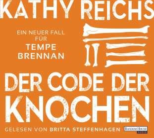Kathy Reichs: Der Code der Knochen, CD