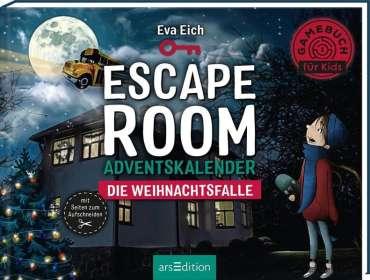 Eva Eich: Escape Room. Die Weihnachtsfalle. Das Original: Der neue Escape-Room-Adventskalender von Eva Eich für Kinder, Buch