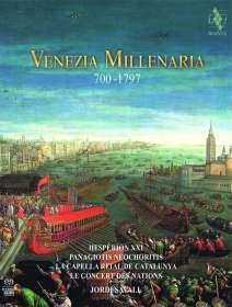 Hesperion XXI - Venezia Millenaria 700-1797 (Deluxe-Version im Buchformat), SACD