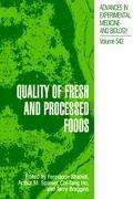 Quality of Fresh and Processed Foods, Buch