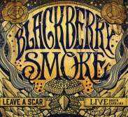 Blackberry Smoke: Leave A Scar: Live In North Carolina (180g) (Limited Edition) (Blue Vinyl), 2 LPs